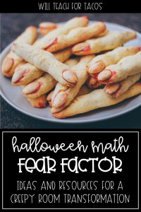 halloween fear factor math