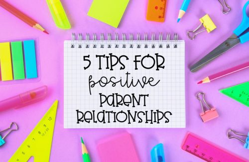 tips for positive parent relationships